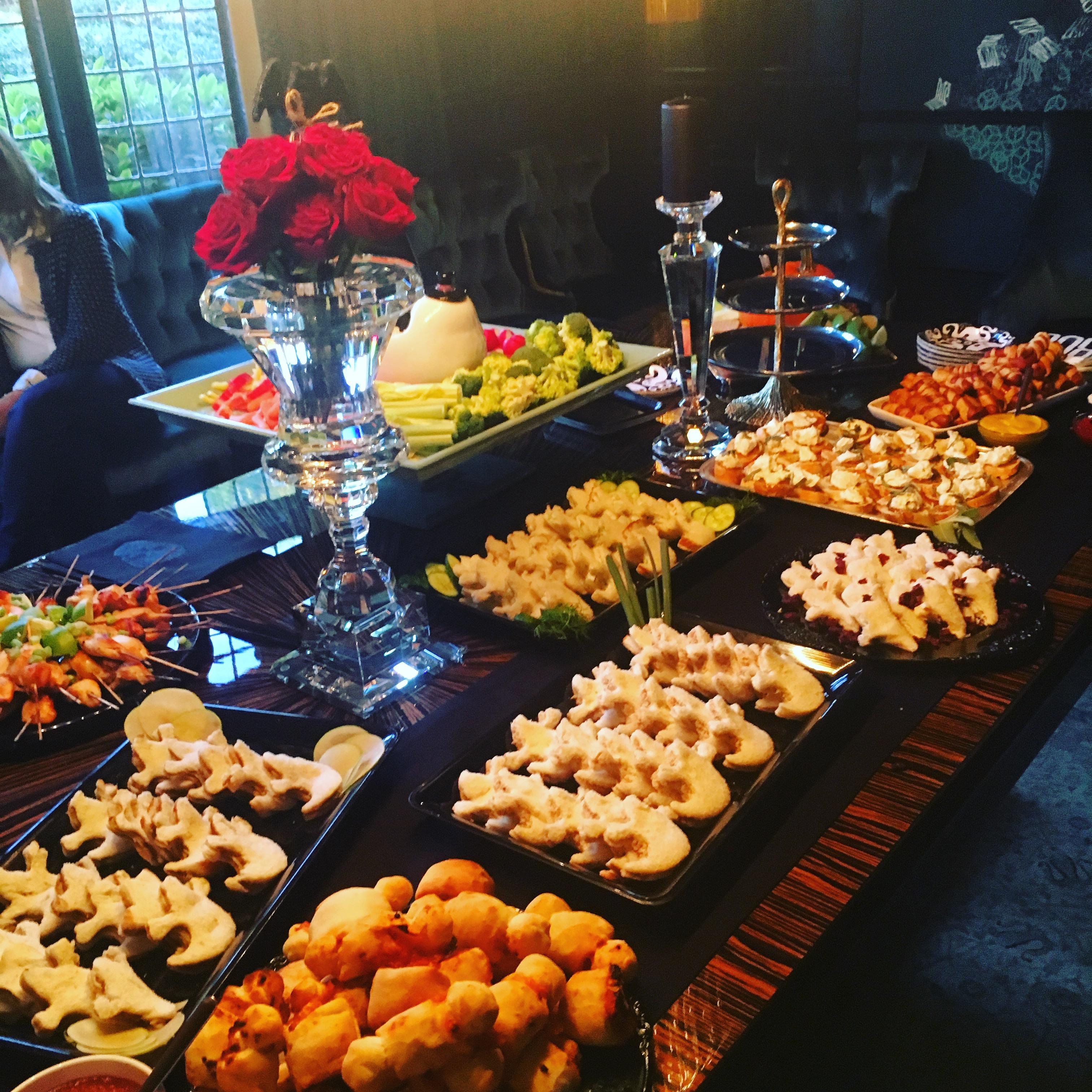 Halloween Finger Foods Party