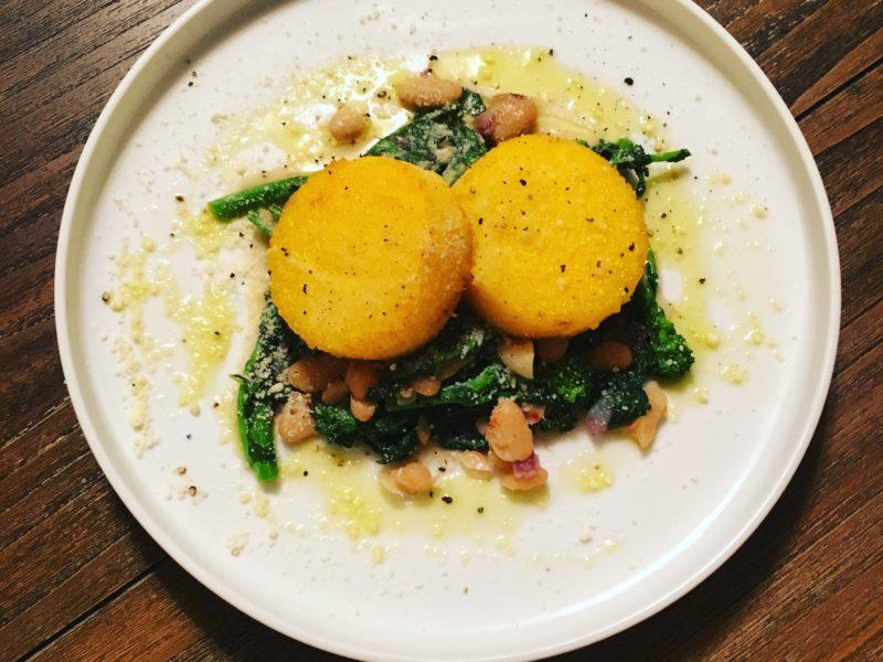 Polenta with Broccoli Rabe Ragout